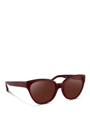 Figure View - Click To Enlarge - 3.1 Phillip Lim - Acetate cat eye sunglasses