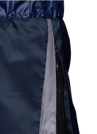 Detail View - Click To Enlarge - NO KA'OI - 'Alika' faux fur pleated drawstring skirt