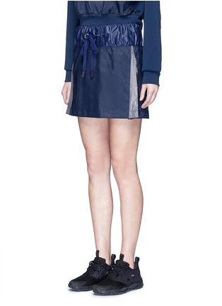 Front View - Click To Enlarge - NO KA'OI - 'Alika' faux fur pleated drawstring skirt
