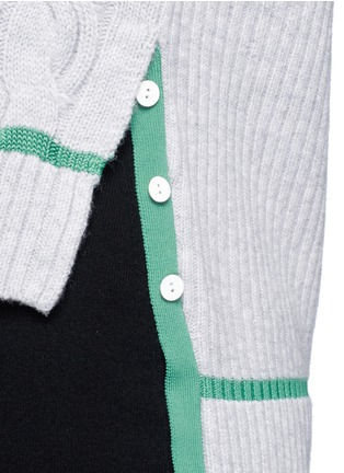Detail View - Click To Enlarge - 3.1 Phillip Lim - Collegiate sleeveless knit tank top