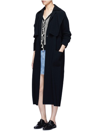 Figure View - Click To Enlarge - 3.1 Phillip Lim - Polka dot bouclé ruffle cardigan