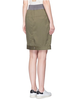 Back View - Click To Enlarge - 3.1 Phillip Lim - Twill belted utility skirt