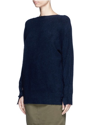 Front View - Click To Enlarge - 3.1 Phillip Lim - Knotted back wool blend sweater