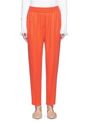 Main View - Click To Enlarge - 3.1 PHILLIP LIM - Elastic waist tapered pants