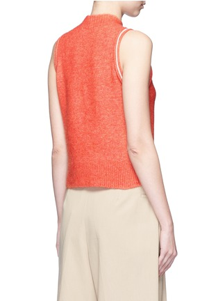 Back View - Click To Enlarge - 3.1 Phillip Lim - Knot front sleeveless knit top