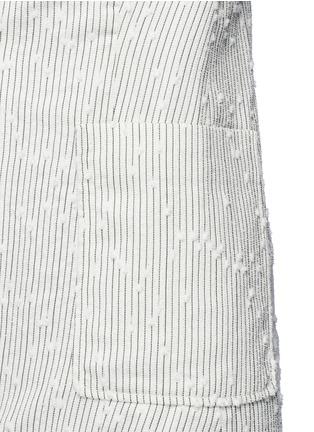 Detail View - Click To Enlarge - 3.1 Phillip Lim - Stripe bouclé soft blazer