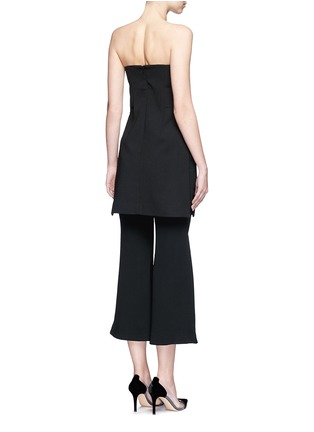 Back View - Click To Enlarge - Nicholas - Strapless split front crepe top