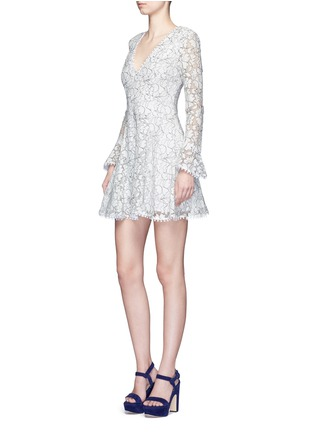 Figure View - Click To Enlarge - Nicholas - Floral lace flare dress