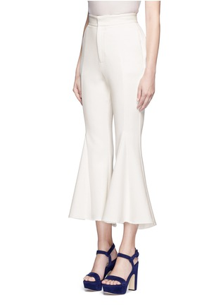 Front View - Click To Enlarge - Nicholas - Crepe godet flare pants