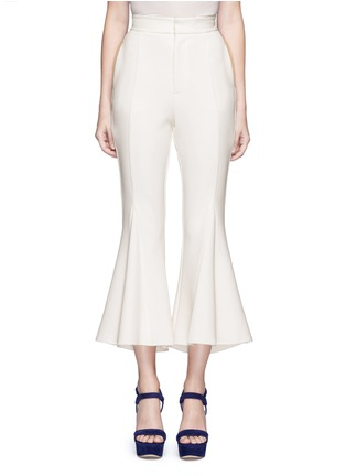 Main View - Click To Enlarge - Nicholas - Crepe godet flare pants
