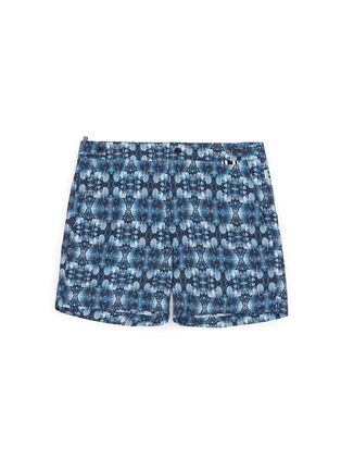 Main View - Click To Enlarge - DANWARD - Photographic floral print swim shorts