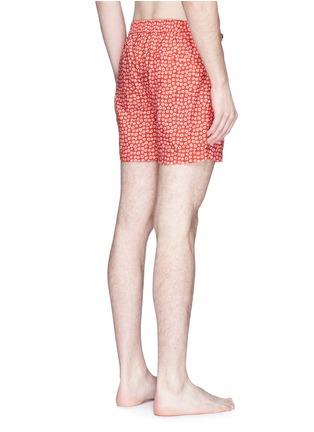 Back View - Click To Enlarge - DANWARD - Naive' floral print swim shorts