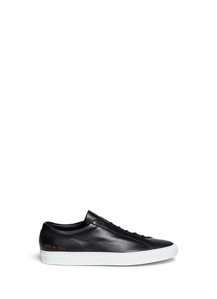 Main View - Click To Enlarge - COMMON PROJECTS - 'Original Achilles' leather sneakers