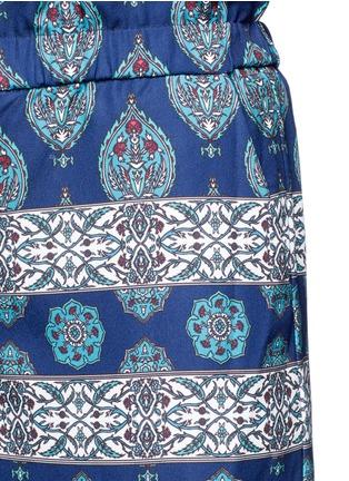 Detail View - Click To Enlarge - Nicholas - Temple print crepe palazzo pants