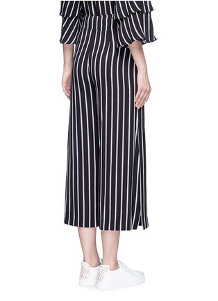 Back View - Click To Enlarge - 72723 - Split side stripe culottes
