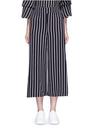 Main View - Click To Enlarge - 72723 - Split side stripe culottes