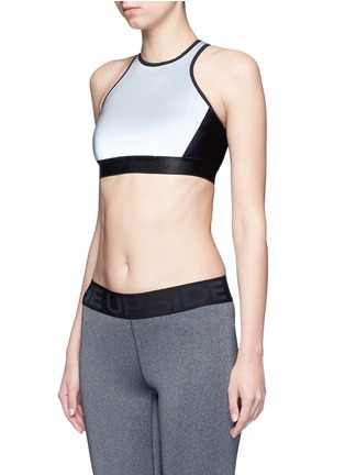 Front View - Click To Enlarge - Monreal London - Reflective power sports bra