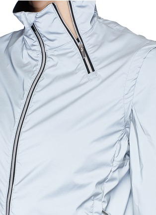 Detail View - Click To Enlarge - MONREAL - 'Action' reflective zip jacket