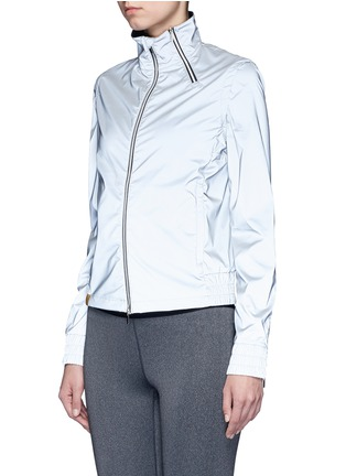 Front View - Click To Enlarge - MONREAL - 'Action' reflective zip jacket