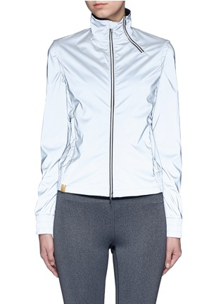 Main View - Click To Enlarge - MONREAL - 'Action' reflective zip jacket
