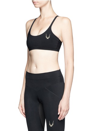 Front View - Click To Enlarge - LUCAS HUGH - 'Core Performance' sports bra