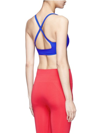 Back View - Click To Enlarge - Lucas Hugh - 'Core Performance' sports bra