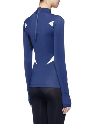 Back View - Click To Enlarge - LUCAS HUGH - 'Winter Sport' fleece lined performance top