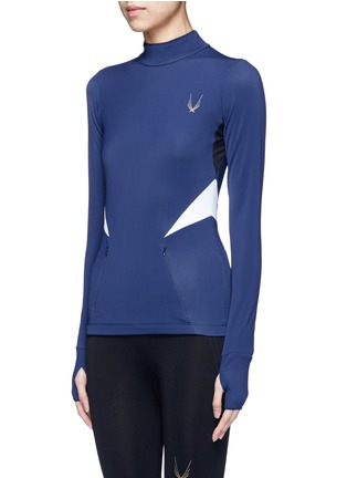 Front View - Click To Enlarge - Lucas Hugh - 'Winter Sport' fleece lined performance top