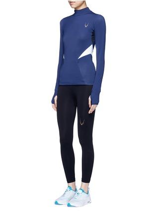 Figure View - Click To Enlarge - LUCAS HUGH - 'Winter Sport' fleece lined performance top