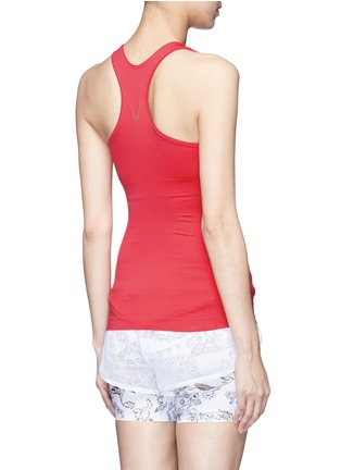 Back View - Click To Enlarge - LUCAS HUGH - Technical knit racerback tank top