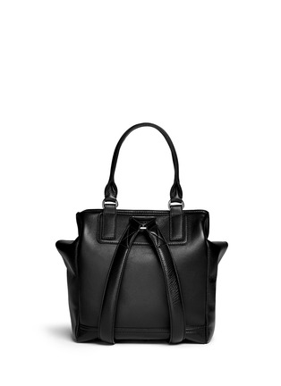 Back View - Click To Enlarge - Givenchy - 'Pandora' grainy leather backpack