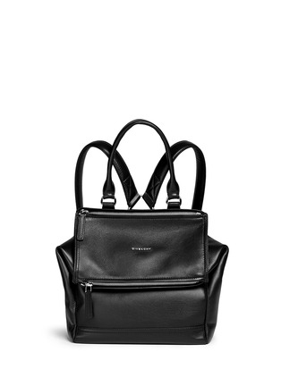 Main View - Click To Enlarge - Givenchy - 'Pandora' grainy leather backpack