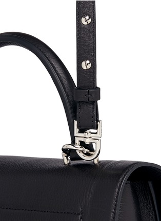 Detail View - Click To Enlarge - Givenchy - 'Shark' mini leather bag