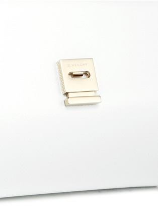 Detail View - Click To Enlarge - Givenchy - 'Pandora Box' mini saffiano patent leather chain bag