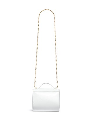 Back View - Click To Enlarge - Givenchy - 'Pandora Box' mini saffiano patent leather chain bag