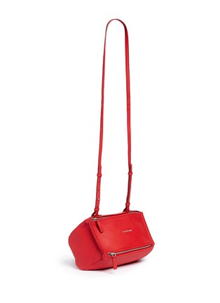 Front View - Click To Enlarge - Givenchy - 'Pandora' mini leather bag