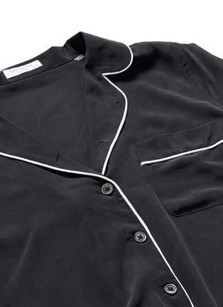 Detail View - Click To Enlarge - Equipment - 'Avery' silk pyjama set