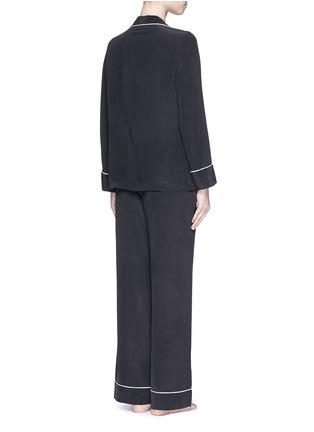 Back View - Click To Enlarge - Equipment - 'Avery' silk pyjama set