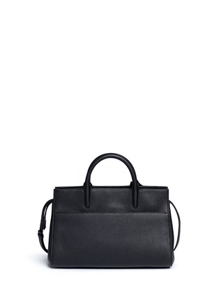 Back View - Click To Enlarge - SAINT LAURENT - 'Rive Gauche' small grainy leather tote