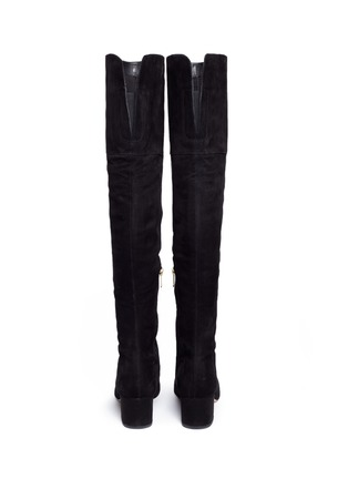 Back View - Click To Enlarge - Sam Edelman - 'Elina' suede thigh high boots