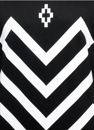 Detail View - Click To Enlarge - Marcelo Burlon - 'Piotr' graphic print jersey T-shirt