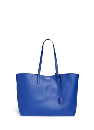 Main View - Click To Enlarge - SAINT LAURENT - Large calfskin leather tote