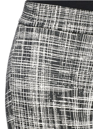 Detail View - Click To Enlarge - Theory - 'Adbelle K' grid stretch knit pants