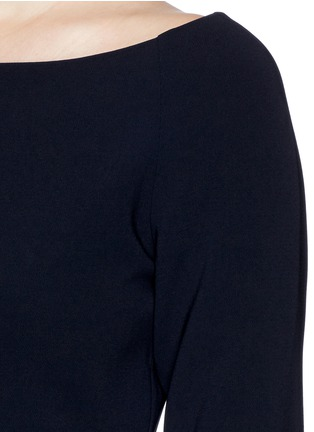 Detail View - Click To Enlarge - Theory - 'Burgess' shirttail hem crepe top