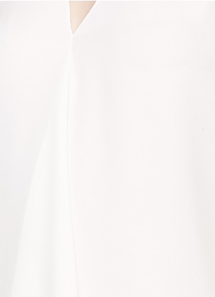 Detail View - Click To Enlarge - Theory - 'Meighlan' silk georgette sleeveless top