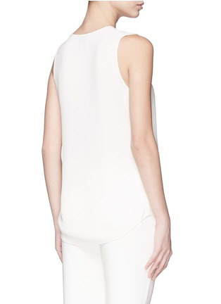 Back View - Click To Enlarge - Theory - 'Meighlan' silk georgette sleeveless top