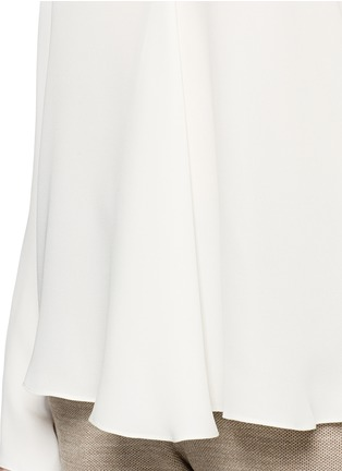 Detail View - Click To Enlarge - Theory - 'Meniph' silk georgette long sleeve top