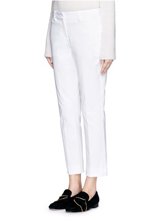 Front View - Click To Enlarge - Theory - 'Izelle C' cropped twill pants