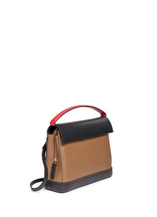 Front View - Click To Enlarge - Marni - 'Every Day' colourblock leather bag