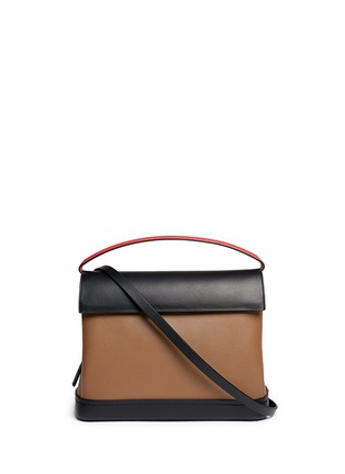 Main View - Click To Enlarge - Marni - 'Every Day' colourblock leather bag